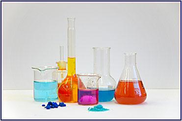 Zastavení v chemické laboratoři